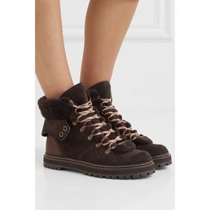 See by Chloé Eileen Hiker Boots 38